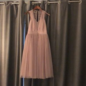 Tulle tea length dress- bridesmaid, prom